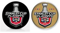 FLORIDA PANTHERS NHL PLAYOFFS PUCK & PIN 2021 STANLEY CUP FINAL 1ST 2ND ROUND