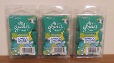 Glade Limited Edition BAMBOO GARDEN Green Tea & Aloe 6pk Wax Melts x3 FREEPOST