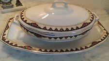 Assiette & Terrine avec couvercle MCP MAYER & Comp porcelaine de poschetau