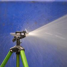 Black Rotating Irrigation Sprinkler Head Rocker Arm Lawn Water Spray Nozzle Tool