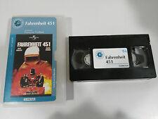 FAHRENHEIT 451 VHS COLECCIONISTA EDICION ESPAÑOLA FRANCOIS TRUFFAUT