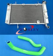 For SUZUKI LTZ400 KFX400 DVX400 2003-2008 04 05 Aluminum Radiator + Hose GREEN