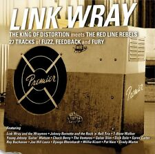 LINK WRAY - THE KING OF DISTORTION MEETS THE RED...  CD NEU