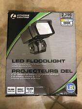 Lithonia Lighting OFL1 LED Bronze Outdoor 4000K Flood Light Adjustable Quick New