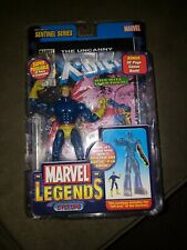 2005 Marvel Legends Sentinel Series Cyclops With Comic NO BAF PART