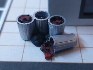 1/64 Scale Resin Rubbish Pile Dustbin Trash Can Hot Wheels Matchbox Diorama