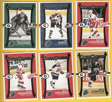 2003-04 Pacific Quest for the Cup Connquest Set (6)