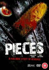 Pieces 1982 DVD 2007 by Christopher George Lynda Day George.