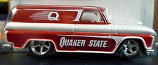 HOT WHEELS 64 1964 GMC PANEL TRUCK RED QUAKER STATE DELIVERY COLLECTIBLE W/RRs