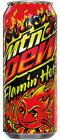 🔥 Flamin Hot Mountain Dew Limited Edition Single 16oz Can In Hand Free Ship 🔥