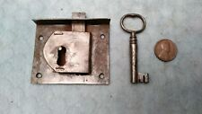 Drawer Lock Furniture Cabinet Period Handmade Semi-mortise