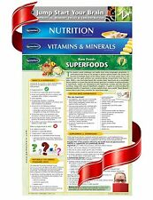 Health and Nutrition - 4 Chart Quick Reference Guide Bundle