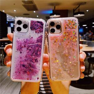 Cute Glitter Liquid Quicksand Case Cover For iPhone 13 12 11 Pro Xs Max 8 7 Plus