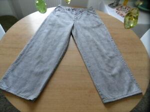 Vintage, Retro, Jeans,Hose, Gr.L, Max Mad House, kariert, weites Bein !!!