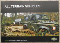 LAND ROVER ALL TERRAIN Government & Military Sales Brochure 2005 #2199/S