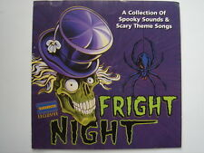 1189 Fright Night - collection of spooky sounds & scary theme songs CD album