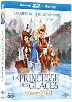 La Princesse des Glaces (The Snow Queen 3) 3D + Blu-Ray 2D // BLU RAY NEUF