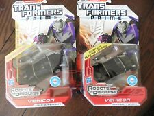 Transfomers Prime Robots In Disguise Vehicon set of TWO