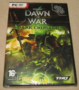 Warhammer 40K Dawn of War Dark Crusade -Original English PC Game 2006 NEW SEALED