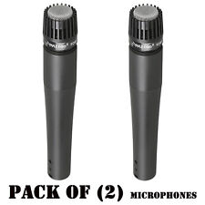 Pack of (2) Pyle PDMIC78 Professional Moving Coil Dynamic Microphone W/ 15Ft XLR