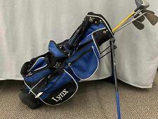 New listing Lynx Black and Blue Golf Bag incl. Golf Clubs