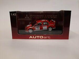 Autoart Mitsubishi Lancer Evo VII WRC 2001 Makinen/Lindstrom 60151 GB Rally