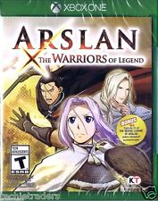Arslan: The Warriors of Legend (Microsoft Xbox One, 2016)