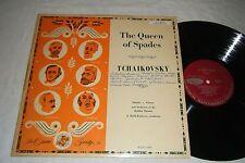 TCHAIKOVSKY Queen of Spades LP MELIK-PASHEYEV 1950's Opera Society M2012-OP7 EX