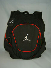 d89a2c3b512a56 NEW JORDAN NIKE AIR BACKPACK BLACK RED BOOK BAG LAPTOP SLEEVE 9A1118-391