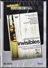 INVISIBLES de Isabel Coixet, Wim Wenders... España tarifa plana envíos DVD, 5 €