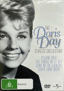 Doris Day Classic Collection (DVD, 4 Discs) 4 Movies - Region 4 - VGC