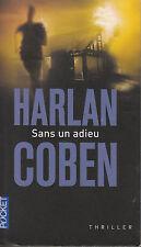 Livre de poche sans un adieu Harlan Coben book