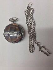 Triumph Herald 948 Con. ref250 car emblem polished silver case pocket watch