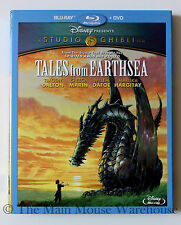 Studio Ghibli Animation Tales from Earthsea Blu-ray DVD English French Japanese