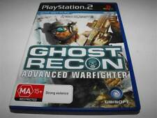 Tom Clancy's Ghost Recon Advanced Warfighter PS2 PAL *Complete*