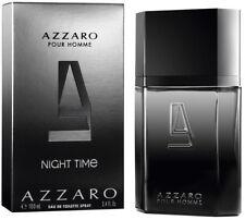 AZZARO NIGHT TIME - EAU DE TOILETTE VAPORISATEUR de 100ml NEUF / BLISTER