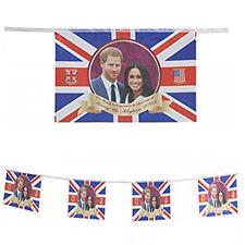 Royal Wedding Harry & Meghan Bunting (12x8'') 10pcs Commemorative Flag Bunting