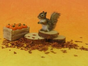 OOAK Dollhouse 1:12 miniature cat ~ Squirrel ~ Handmade IGMA Artisan J Parrott