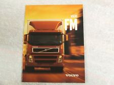 VOLVO FM GLOBETROTTER FULL BROCHURE 2001 35 PAGES