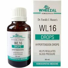 Homeopathic Wheezal WL-16 Hypertension Drop 30 ml Relieves Stress Free Shipping