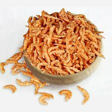 Freeze Dried Shrimp Fish Food Natural Feeding Tropical Tank Aquarium Protein Koi