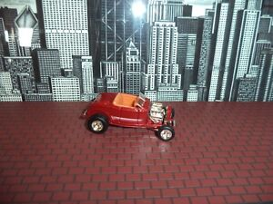 HOT WHEELS 32 FORD HI-BOY ROADSTER REGGIES CARS LIMITED EDITION 1/64 REAL RIDERS