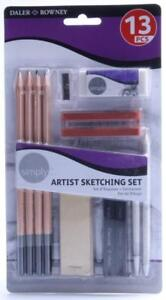 Daler Rowney Simply Artists Sketching Set