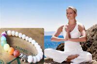 7 Chakra Healing Bracelet Natural Lava Stone Diffuser Bracelet Jewelry Yoga Wear