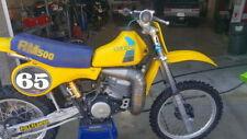 1984 RM500 RM-500 RM 500 vmx