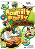 Family Party: 30 Great Games Outdoor Fun (Nintendo Wii Game) *GOOD CONDITION*