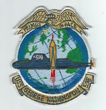 60s-70s SSBN-598 USS GEORGE WASHINGTON(JAPANESE MADE) patch