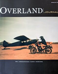 Overland Journal - 5 issues, 2020-2021 - high-quality adventure magazine