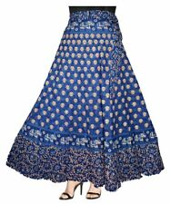 Wrap Around Cotton Long Skirt Free Size