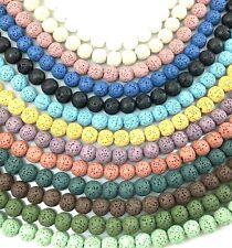Lava Bead Rock Round Beads 15